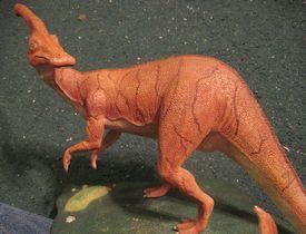 my Parasaurolophus buld up