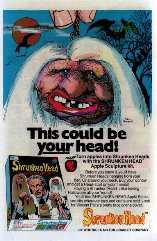 shrunken head maker ad