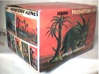 1972 Aurora model box