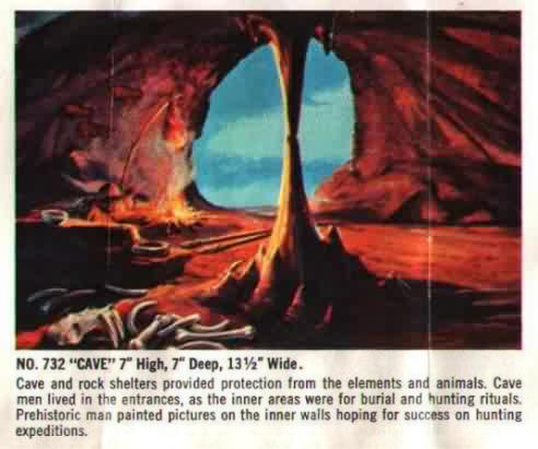 the cave aurora model kit