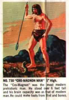 cromagnon man aurora model kit