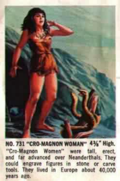 cromagnon woman aurora model kit