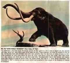 woolly mammoth aurora model kit
